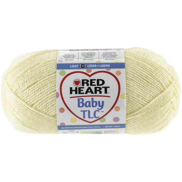 Red Heart Baby TLC YarnPowder Yellow