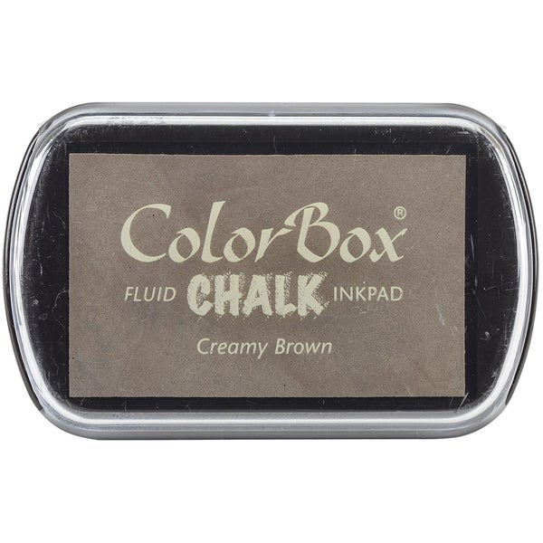 ColorBox Fluid Chalk Ink PadCreamy Brown