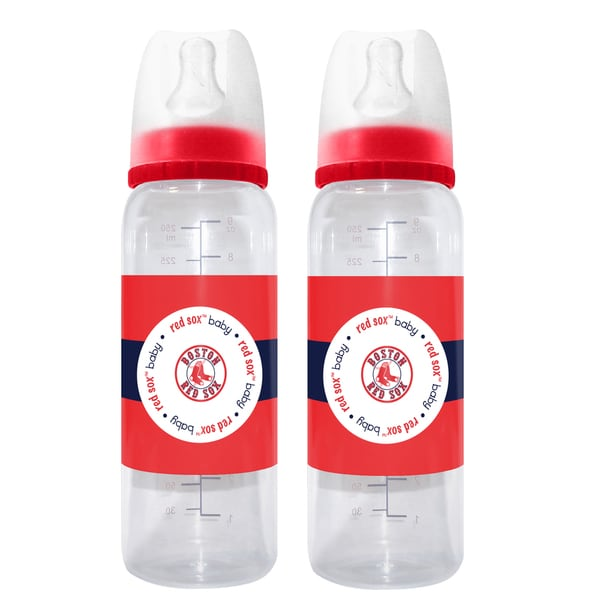 Boston Red Sox 2-piece Baby Bottle Set