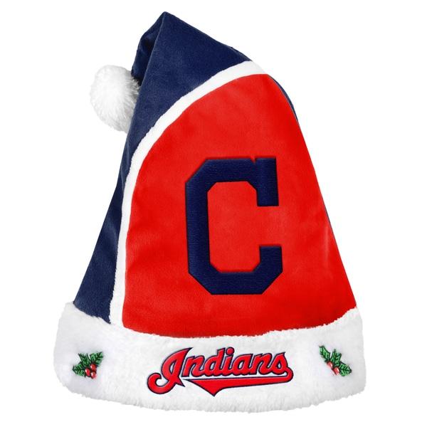 Cleveland Indians 2015 MLB Polyester Santa Hat