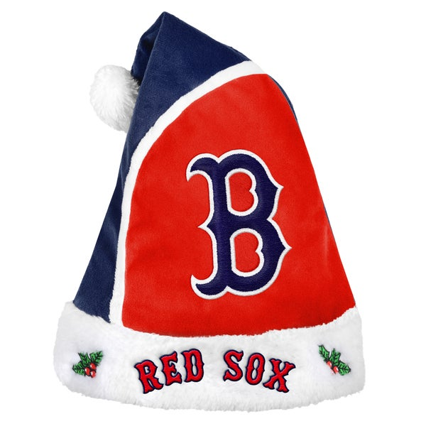 Boston Red Sox 2015 MLB Polyester Santa Hat 16362525