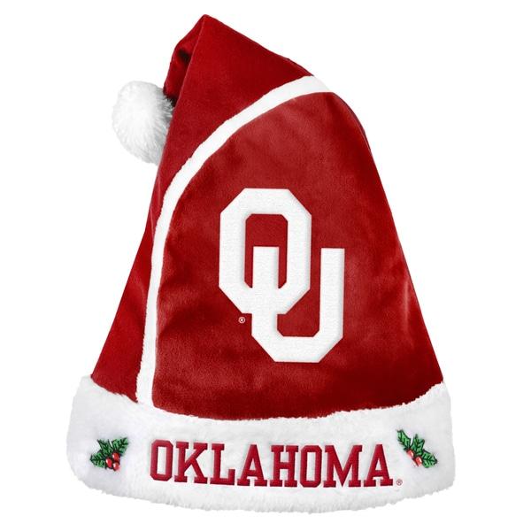 Oklahoma Sooners 2015 NCAA Polyester Santa Hat 16362530
