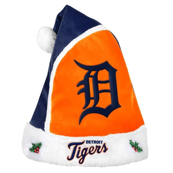 Detroit Tigers 2015 MLB Polyester Santa Hat 16362533