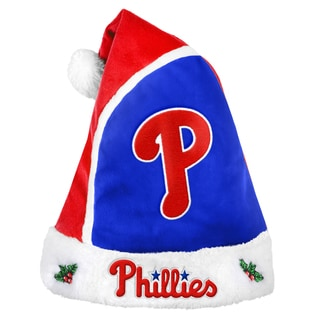 Philadelphia Phillies 2015 MLB Polyester Santa Hat
