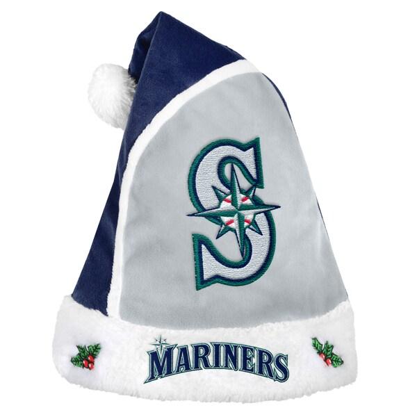 Seattle Mariners 2015 MLB Polyester Santa Hat 16362551