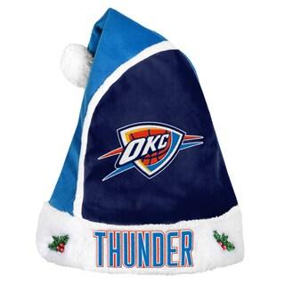 Oklahoma City Thunder 2015 NBA Polyester Santa Hat