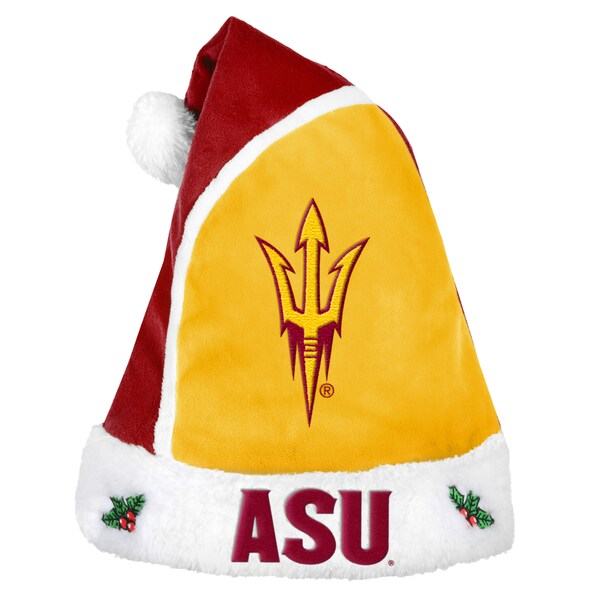 Arizona State Devils 2015 NCAA Polyester Santa Hat