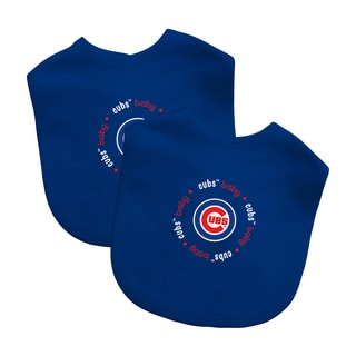 Baby Fanatic MLB Chicago Cubs 2-pack Baby Bib Set