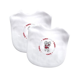 Baby Fanatic Alabama Crimson Tide 2-pack Baby Bib Set