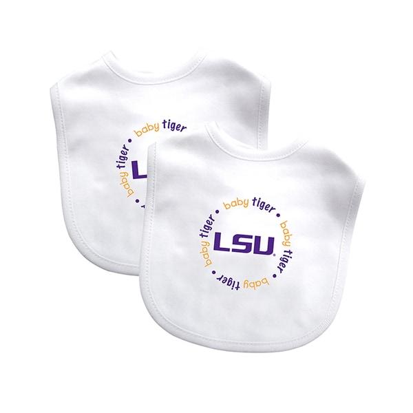 Baby Fanatic NCAA LSU Tigers 2-pack Baby Bib Set 16362580