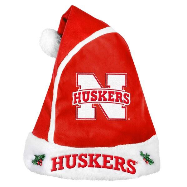 Nebraska Huskers 2015 NCAA Polyester Santa Hat 16362593