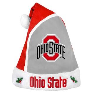 Ohio State Buckeyes 2015 NCAA Polyester Santa Hat