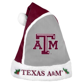 Texas A and M Aggies 2015 NCAA Polyester Santa Hat