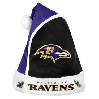 Forever Collectibles Baltimore Ravens 2015 NFL Polyester Santa Hat