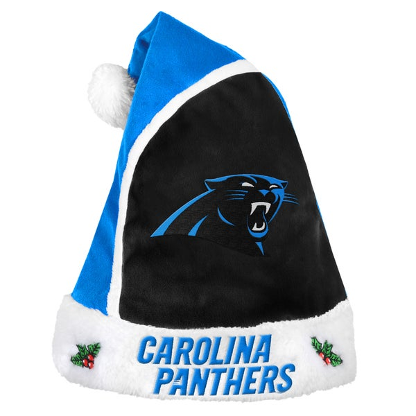 Carolina Panthers 2015 NFL Polyester Santa Hat