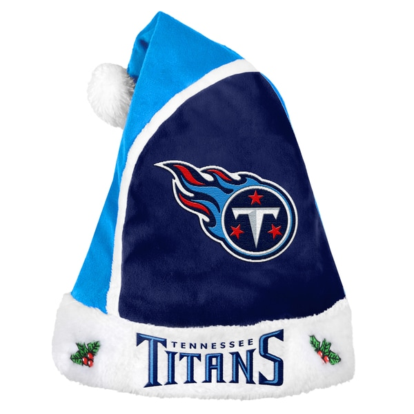 Forever Collectibles Tennessee Titans 2015 NFL Polyester Santa Hat 16362653