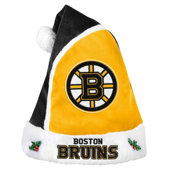 Boston Bruins 2015 NHL Polyester Santa Hat 16362655