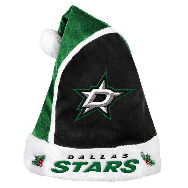 Dallas Stars 2015 NHL Polyester Santa Hat