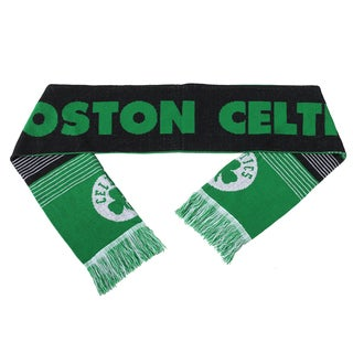 Boston Celtics Split Logo Reversible Scarf