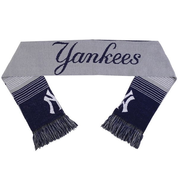 New York Yankees Split Logo Reversible Scarf