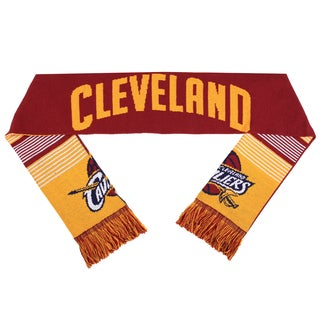 Forever Collectibles NBA Cleveland Cavaliers Split Logo Reversible Scarf