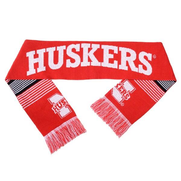 Nebraska Huskers Split Logo Reversible Scarf