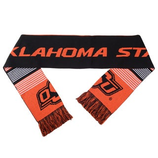 Oklahoma State Cowboys Split Logo Reversible Scarf