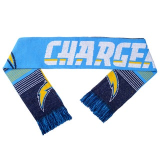 Forever Collectibles NFL San Diego Chargers Split Logo Reversible Scarf