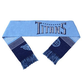 Forever Collectibles NFL Tennessee Titans Split Logo Reversible Scarf