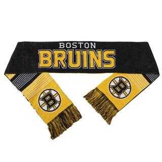 Forever Collectibles NHL Boston Bruins Split Logo Reversible Scarf