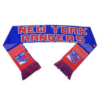 Forever Collectibles NHL New York Rangers Split Logo Reversible Scarf