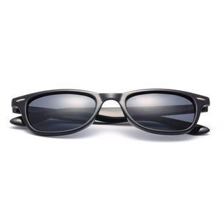 Square Sunglasses with Blue Colored Lens 51MM