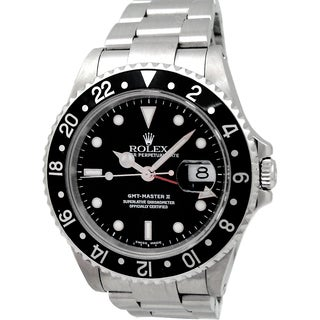 Pre-Owned Rolex Stainless Steel GMT-Master II Watch