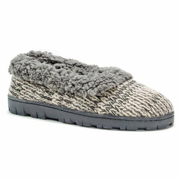 Muk Luks Women's Pattern Full Foot Slipper