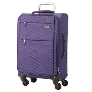 Skyway FL-Air Royal Paisley 20-inch Lighweight Expandable Carry On Spinner Upright Suitcase