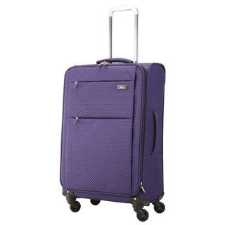 Skyway FL-Air Royal Paisley 24-inch Lightweight Expandable Spinner Upright Suitcase
