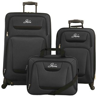 Skyway Glacier Peak 3-piece Expandable Spinner Luggage Set