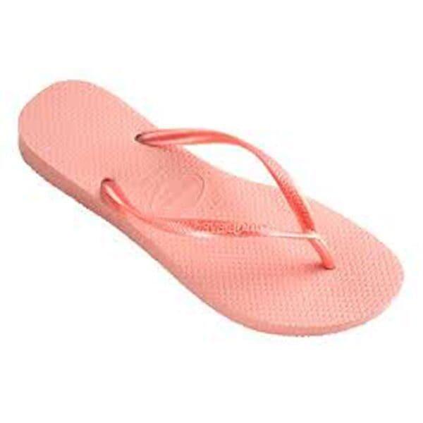 Havaianas Women's Pink Rubber Regular Flip Flops