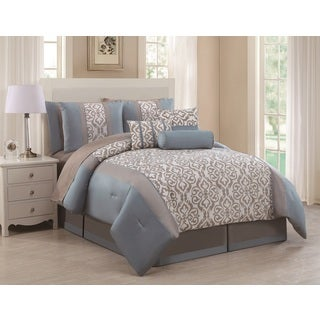 Paoula 11-piece Bed in a Bag with Sheet Set