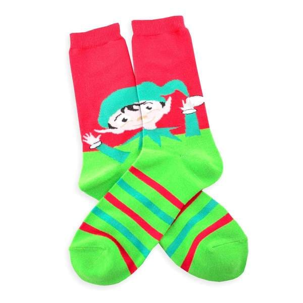 TeeHee Women's Holiday 'I Love Presents' Crew Socks