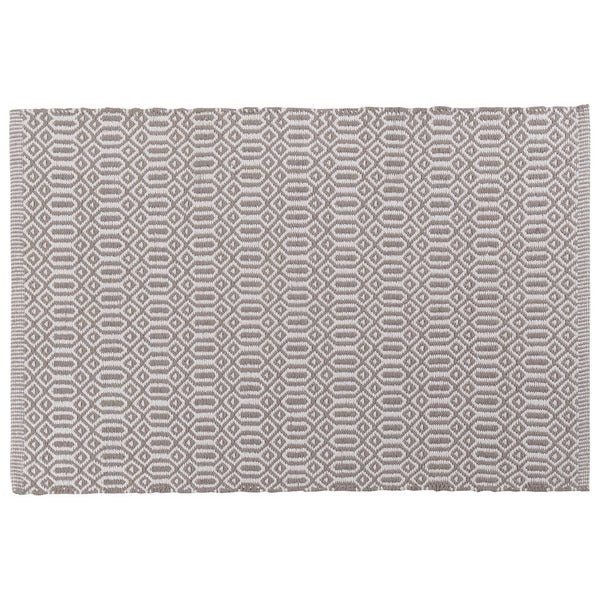 Bazaar Grey Kitchen Mat