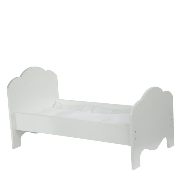 Teamson Kids Little Princess 18-inch Doll Classic Single Bed