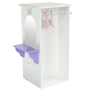 Olivia's Little World Little Princess 18-inch Doll Dresser with 3 Hangers