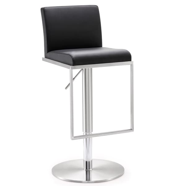 Amalfi Stainless Steel Adjustable Barstool 17691867