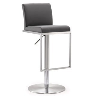 Amalfi Stainless Steel Adjustable Barstool