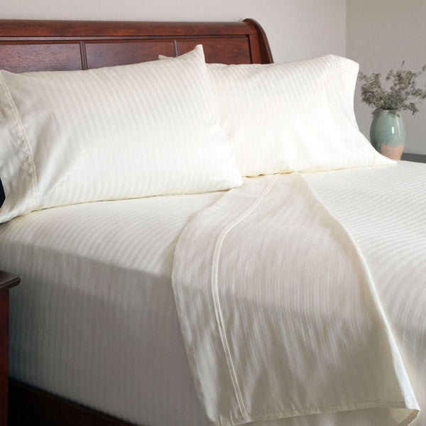 Windsor Home 300 Thread Count Cotton Sateen Sheet Set