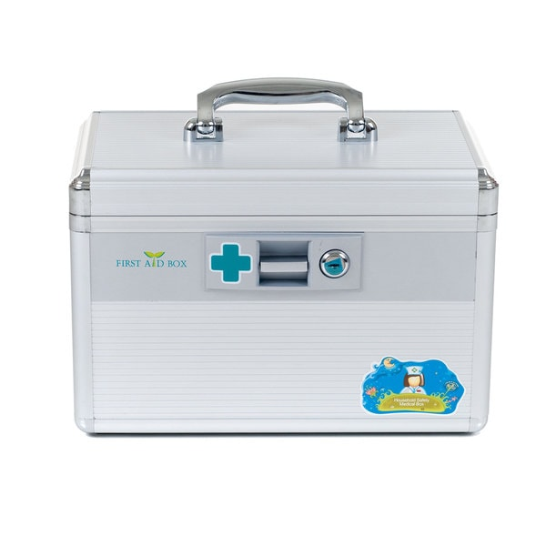 Trademark Home Aluminum Medical First Aid Case