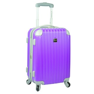 Travelers Club Modern 20-inch Hardside Expandable Carry-On Spinner Suitcase