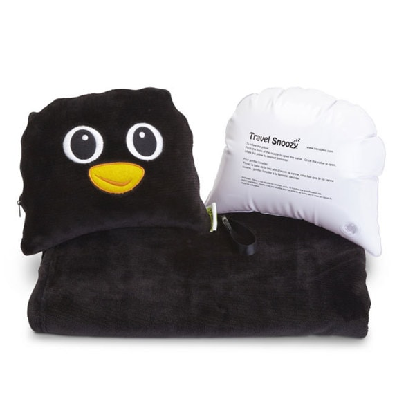 Travel Buddies Percy Penguin Travel Snoozy Travel Set