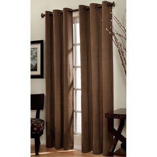 Park Square Chocolate Curtain Panel Pair